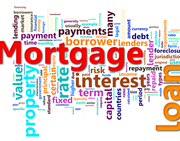 Mortgage glossary a property news for What type of loan to buy land