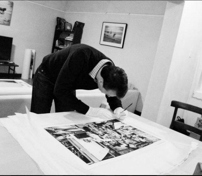 gregor signing prints