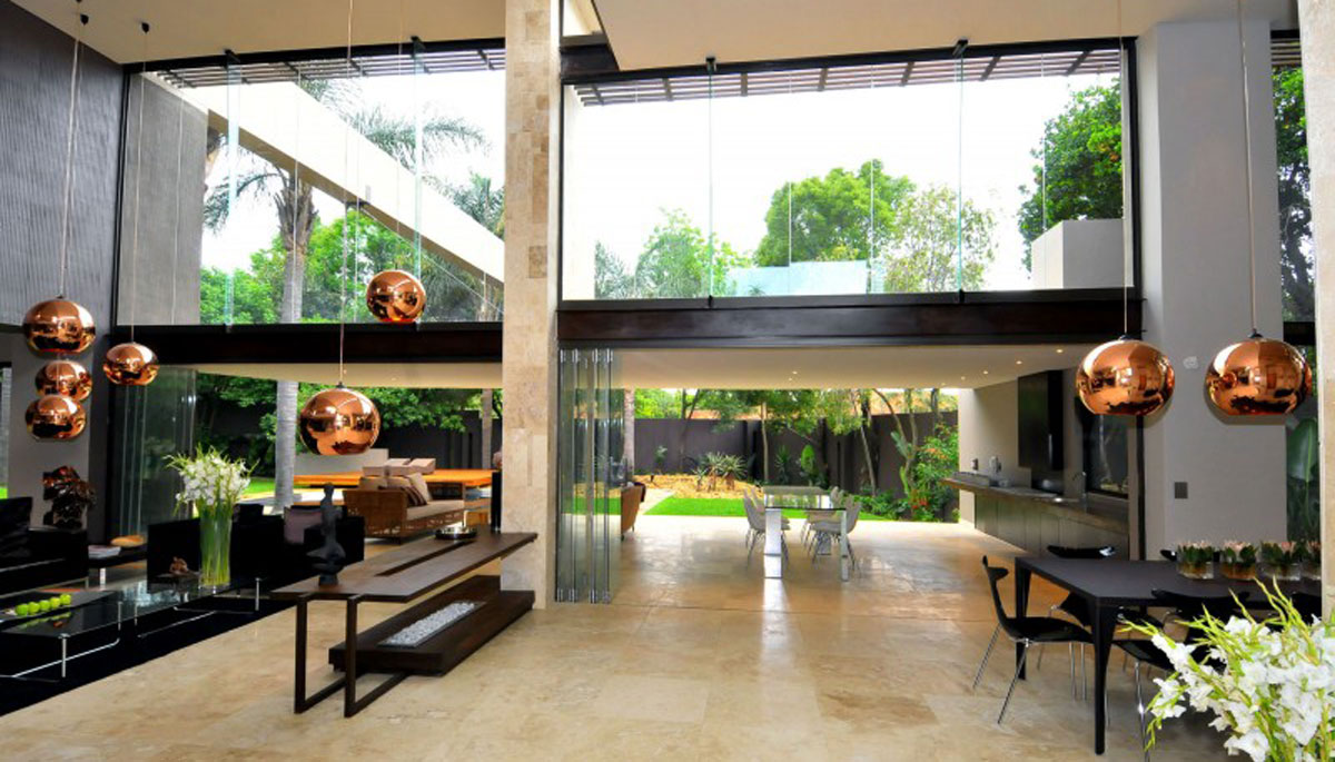 Morningside House - Nico van der Meulen - dining area