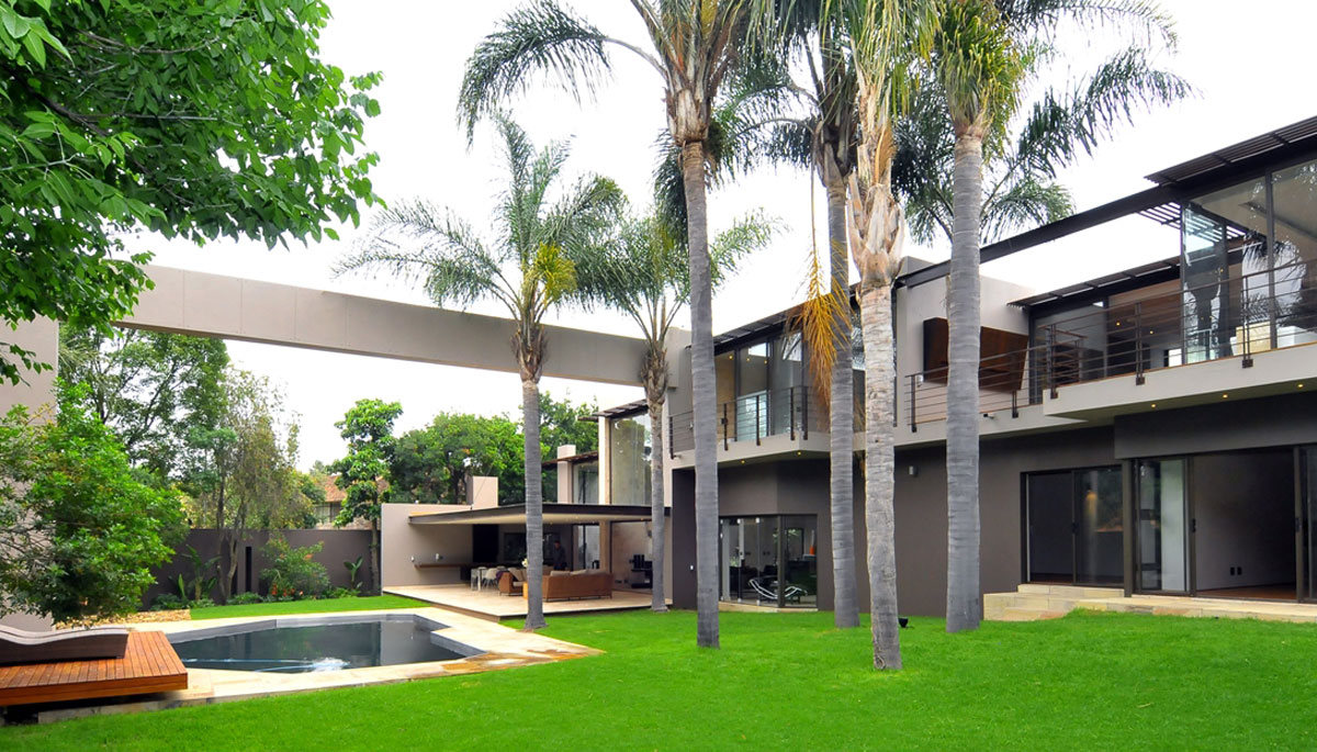 Morningside House - Nico van der Meulen - garden