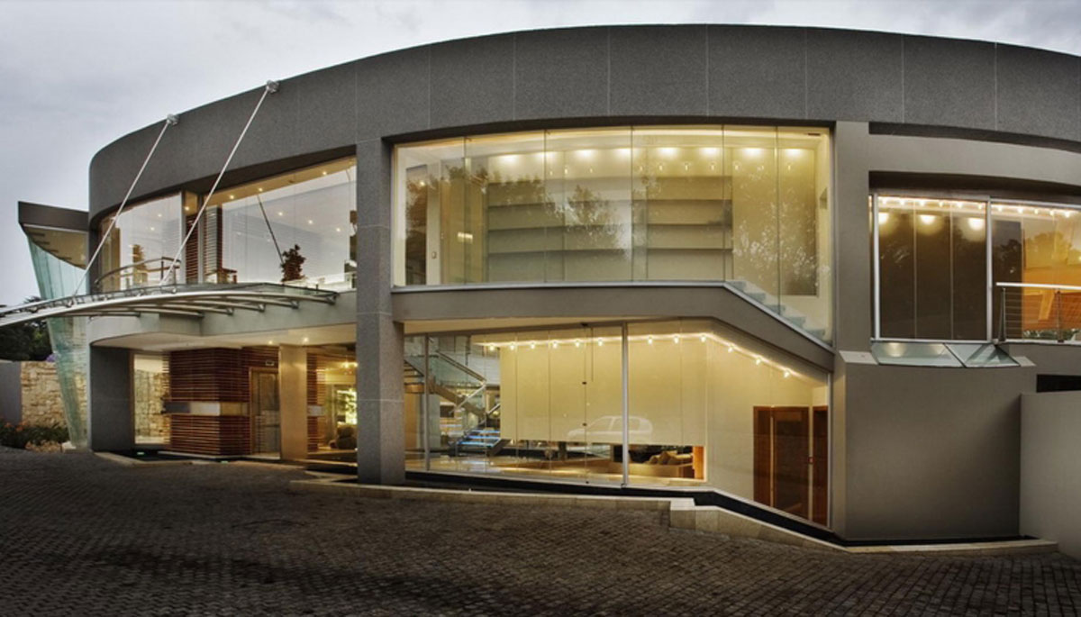 Glass House by Nico van der Meulen - entrance