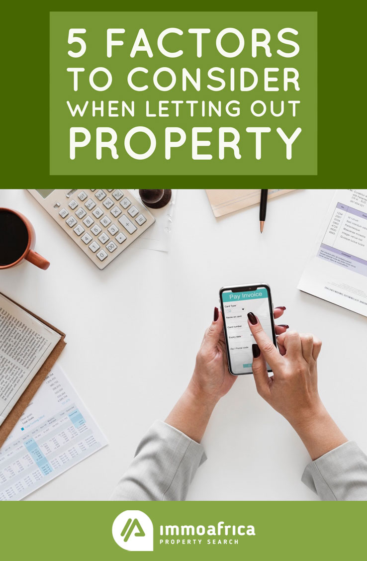 5 Factors To Consider When Letting Out Property