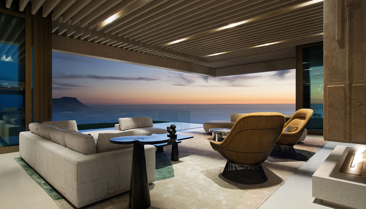 Contemporary Masterpiece by SAOTA - ocean views