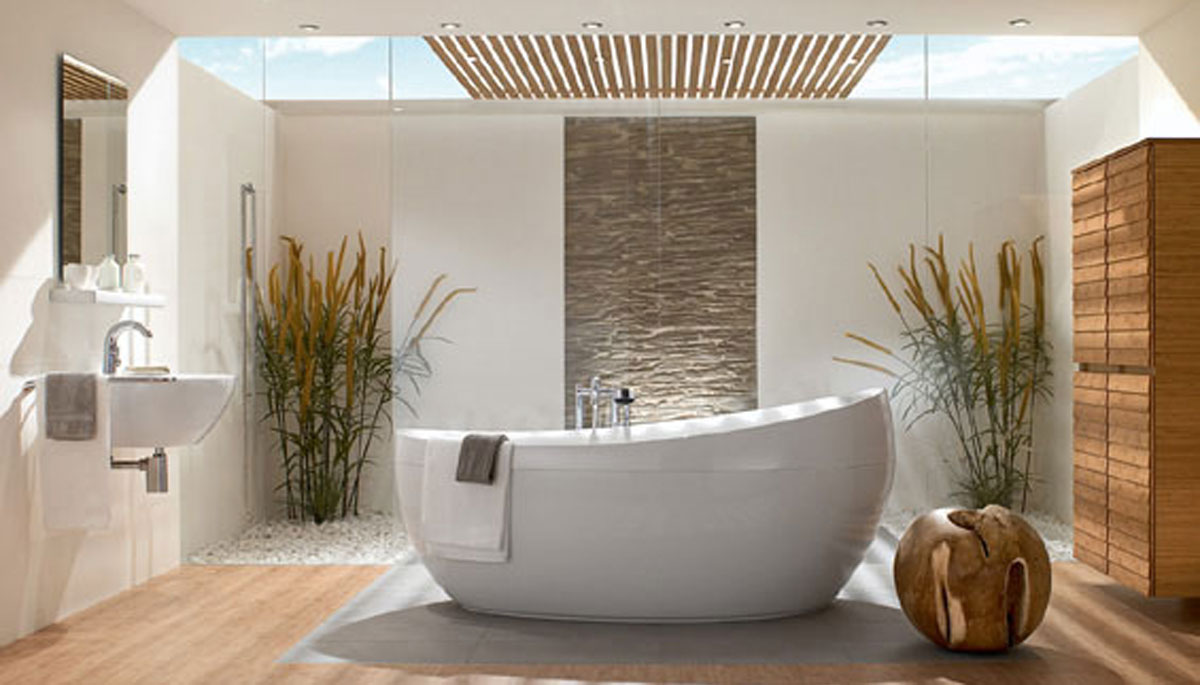 Interior Design Trends - Free Bath Tub