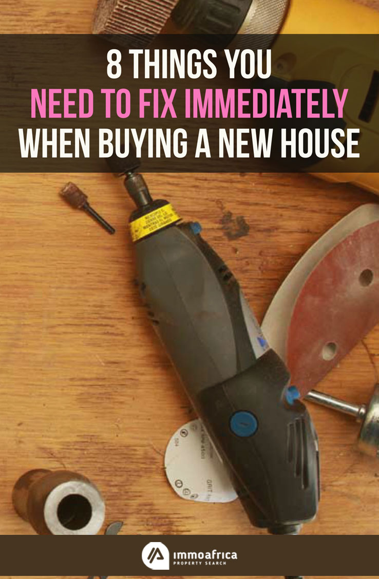Fix Immediately When Buying a New House