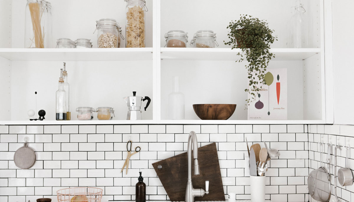 Open Shelving in the Kitchen