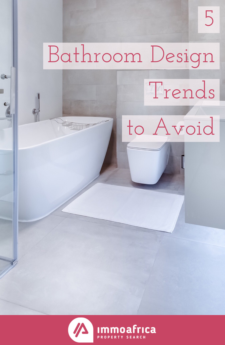 Bathroom Design Trends to Avoid