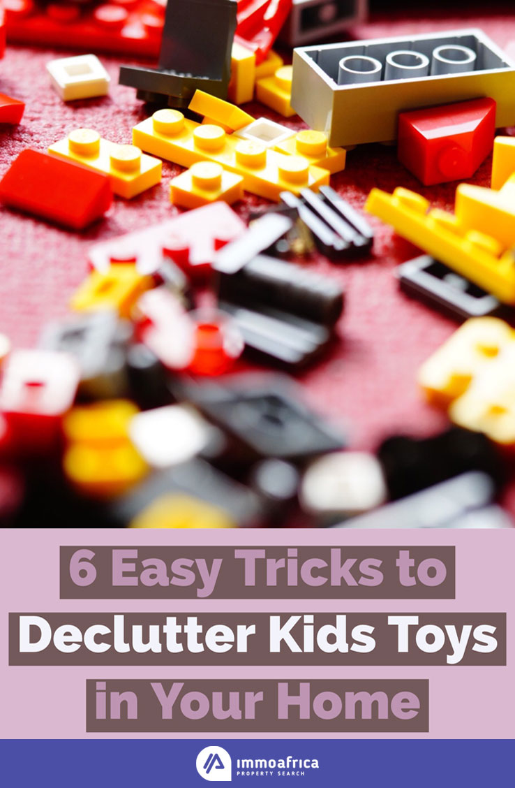 Declutter Kids Toys in Your Home