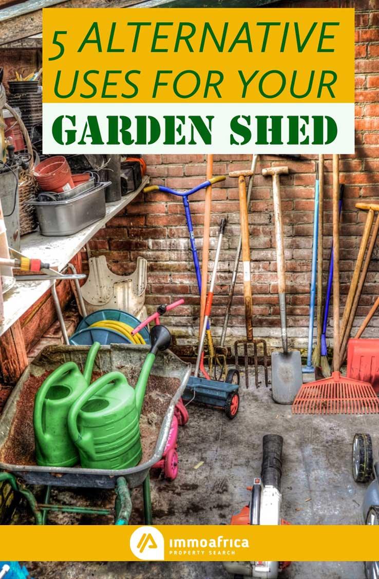 5 Alternative Uses for Your Garden Shed
