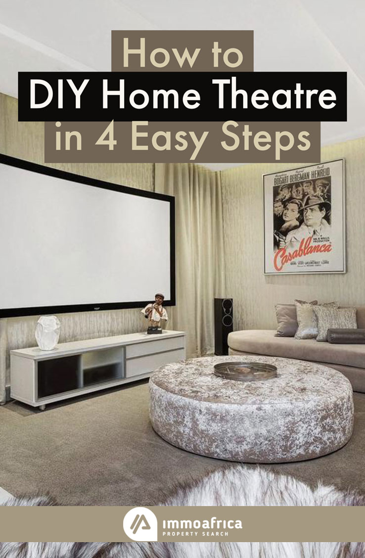 How to DIY Home Theatre in 4 Easy Steps