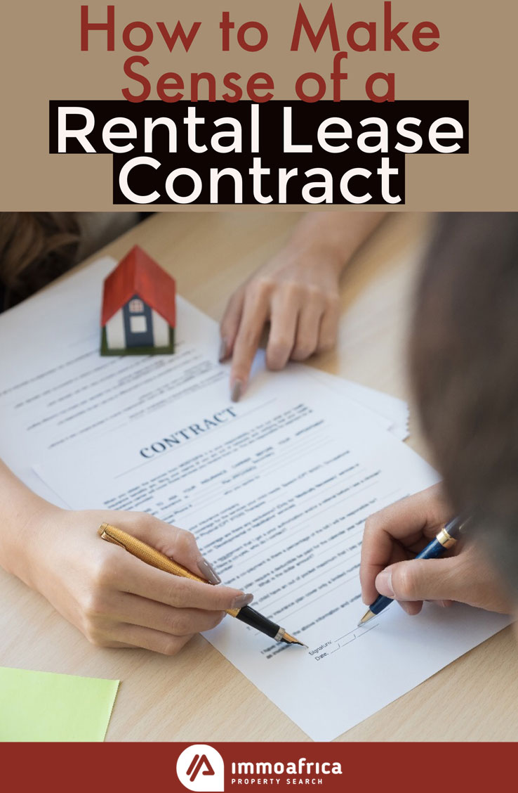 Make Sense of a Rental Lease Contract