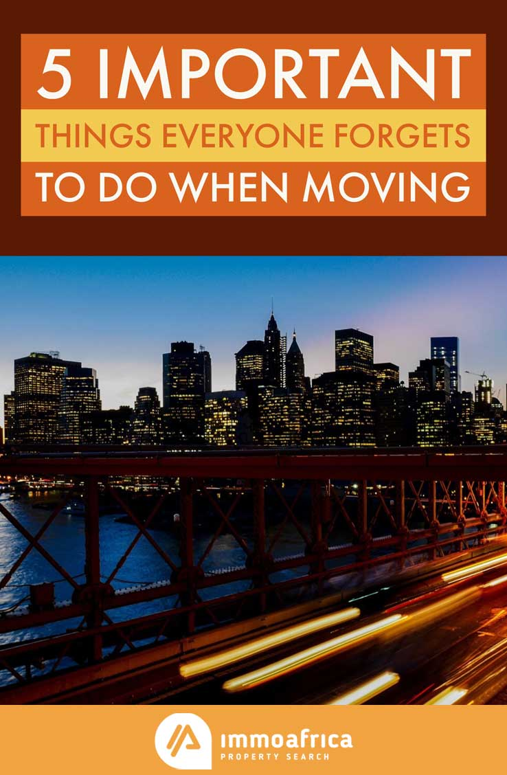 Important Things Everyone Forgets to Do When Moving