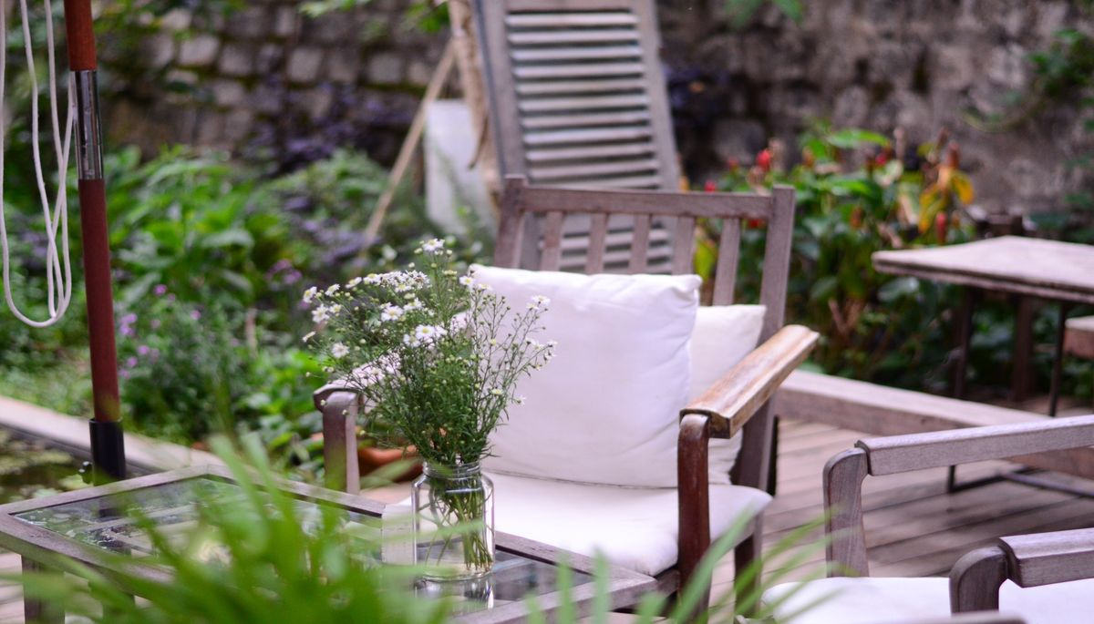 Spruce Up the Backyard Patio