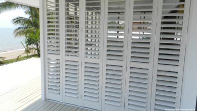 Tips for Aluminium Shutters Care
