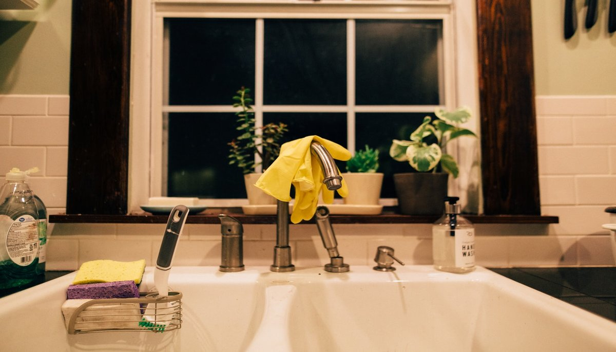 White Fireclay Farmhouse Kitchen Sink Winning Combination